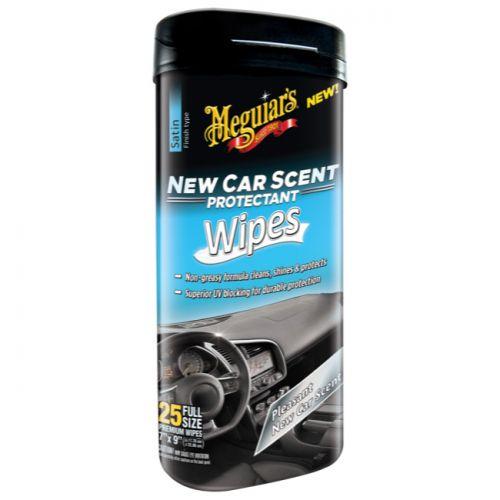 Meguiar S 174 New Car Scent Protectant Wipes