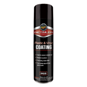 Meguiar's® D45 Detailer Vinyl and Plastic Coating (Aerosol), 10 oz.
