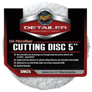 Meguiar's® DMC5 DA Microfiber Cutting Disc - 5 inch (2 pack)