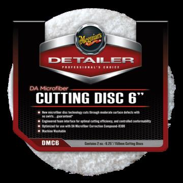 Meguiar's® DMC6 DA Microfiber Cutting Disc - 6 inch (2 pack)
