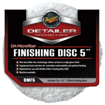 Meguiar's® DMF5 DA Microfiber Finishing Disc - 5 inch (2 pack)