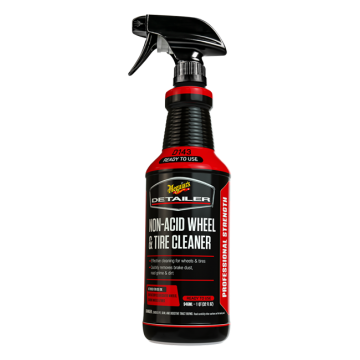 Meguiar's D143 Non-Acid Wheel & Tire Cleaner, 32 oz. RTU