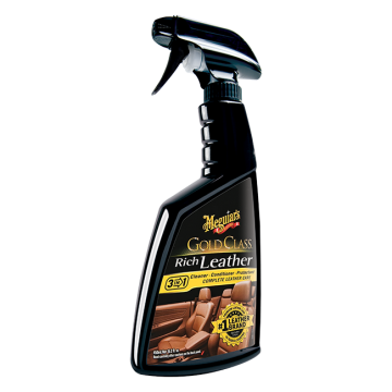 Meguiar's® Gold Class™ Rich Leather Cleaner & Conditioner, 16 oz.