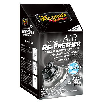 Meguiar's Whole Car Air Re-Fresher - Black Chrome Scent