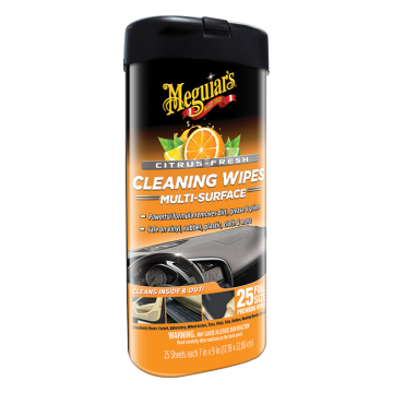 Meguiar's® Citrus Fresh Cleaning Wipes