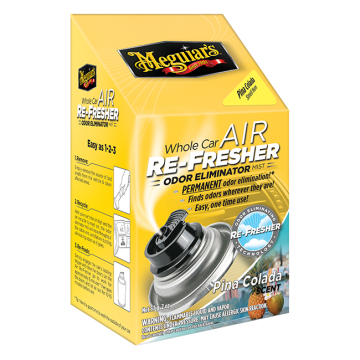Meguiar's Whole Car Air Re-Fresher – Piña Colada Scent