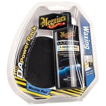 Meguiar's® DA Waxing Power Pack