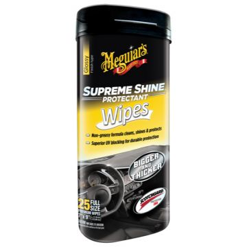 Meguiar's® Supreme Shine® Protectant Wipes