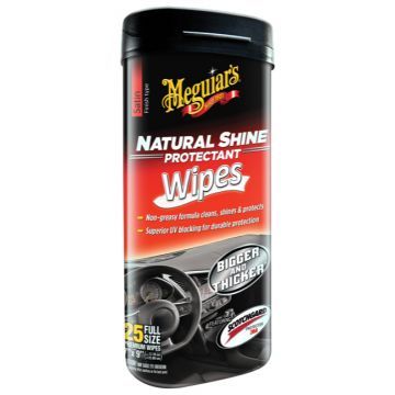 Meguiar's® Natural Shine® Protectant Wipes