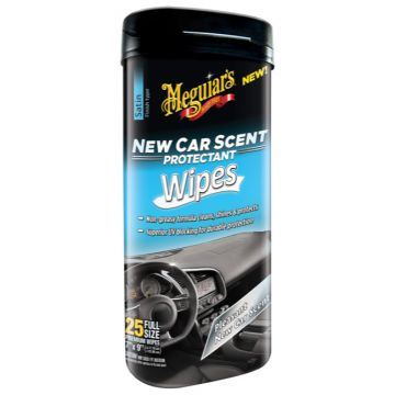 Meguiar's® New Car Scent Protectant Wipes