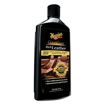 Meguiar's® Gold Class™ Rich Leather Cleaner/Conditioner, 14 oz.