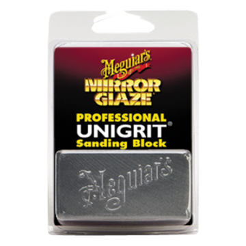 Meguiar's® Mirror Glaze® Unigrit® Sanding Block - 2000 Grit