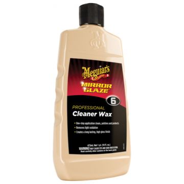 Meguiar's® M6 Mirror Glaze® Cleaner Wax, 16 oz.