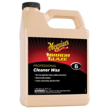 Meguiar's® M6 Mirror Glaze® Cleaner Wax, 64 oz.