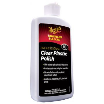 Meguiar's® M10 Mirror Glaze® Clear Plastic Polish, 8 oz .