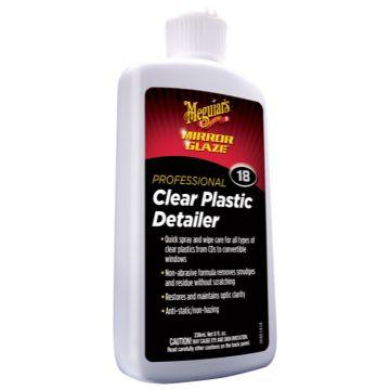 Meguiar's® M18 Mirror Glaze® Clear Plastic Detailer, 8 oz.