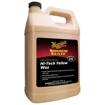 Meguiar's® M26 Mirror Glaze® Hi-Tech Yellow Wax, 1 Gallon