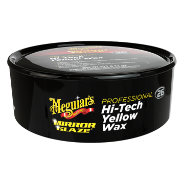 Meguiar's® M26 Mirror Glaze® Hi-Tech Yellow Wax (Paste), 11 oz.