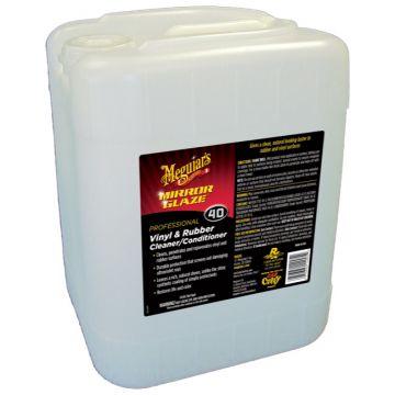 Meguiar's® M40 Mirror Glaze®  Vinyl & Rubber Cleaner & Conditioner, 5 Gallon