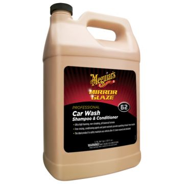 Meguiar's® M62 Mirror Glaze® Carwash Shampoo & Conditioner, 1 Gallon