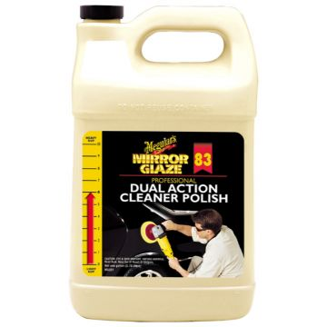 Meguiar's® M83 Mirror Glaze® Dual Action Cleaner Polish, 1 Gallon