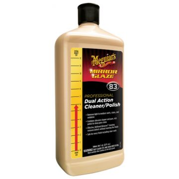 Meguiar's® M83 Mirror Glaze® Dual Action Cleaner Polish, 32 oz.
