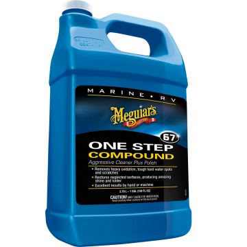 Meguiar's Marine/RV One-Step Compound, 1 Gallon