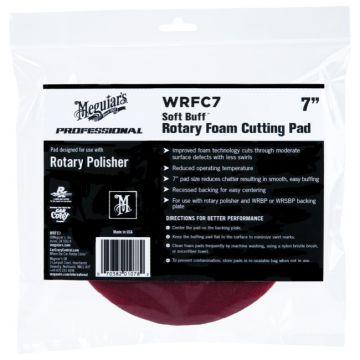 Meguiar's® Soft Buff™ Rotary Foam Cutting Pad - 7 inch