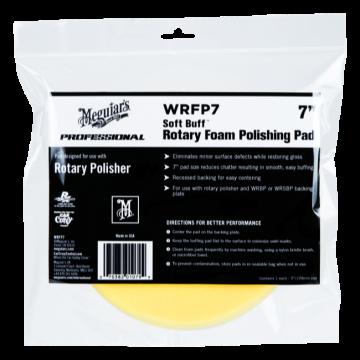 Meguiar's® Soft Buff™ Rotary Foam Polishing Pad - 7 inch
